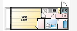 神奈川県横須賀市鷹取1丁目の賃貸アパートの間取り