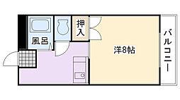 エスパシオ江頭I[205号室]の間取り