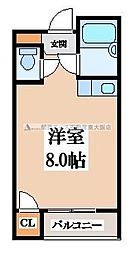 バーブルパークマンション[4階]の間取り
