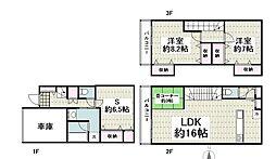 クレイドルガーデン横浜栄区鍛冶ヶ谷第2 6号棟0001 2SLDKの間取り