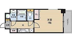 アーバネックス梅田西[5階]の間取り