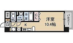 ALIVIO[10階]の間取り
