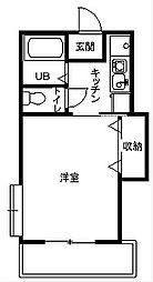 ベルハイム21[2階]の間取り