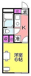 nike[207号室]の間取り