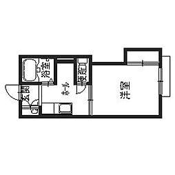 サンメイト[2階]の間取り