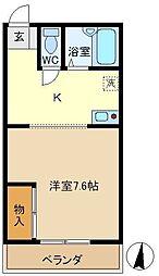 スターハイム内川 303[3階]の間取り
