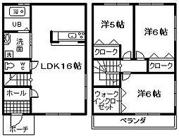 [テラスハウス] 大阪府泉佐野市葵町3丁目 の賃貸【/】の間取り