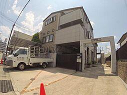 大阪府箕面市百楽荘4丁目の賃貸アパートの外観