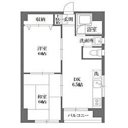 メゾン新高島平[3階]の間取り