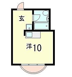 琵琶湖プラザ[13階]の間取り