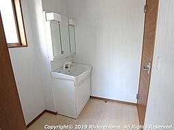 シャンプードレッサー/ワイド三面鏡ミラータイプ/シングルレバーシャワー水栓