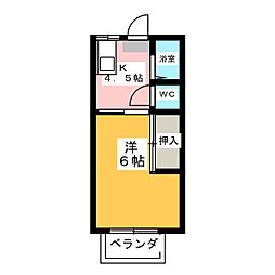 メゾン宮千代[2階]の間取り