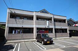愛知県名古屋市中川区大当郎1丁目の賃貸アパートの外観