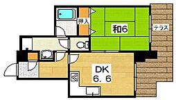シーガルハイツ[1階]の間取り