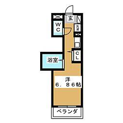 esperance[1階]の間取り