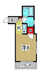 オオノビル[3階]の間取り