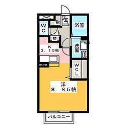 エタナリエ[2階]の間取り