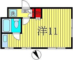 齋藤ビル[2階]の間取り