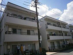 大阪府高槻市川西町1丁目の賃貸マンションの外観