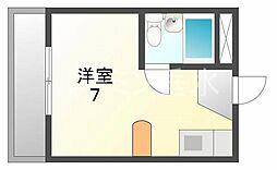 コーポライフビル[4階]の間取り