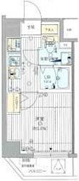 コンフォリア横濱関内[8階]の間取り