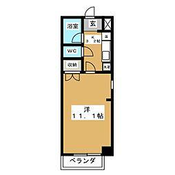 ソレイユハイム[2階]の間取り