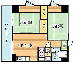 MDIマンション[3階]の間取り