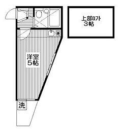 ヴァンドーム戸塚(バンドームトツカ)[1階]の間取り
