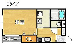 プラタ3[4階]の間取り