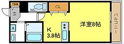 ホワイトキューブ[3階]の間取り
