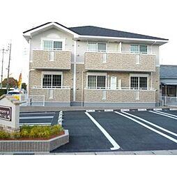 愛知県岡崎市寿町の賃貸アパートの外観
