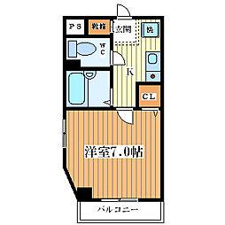 ARK21[5階]の間取り