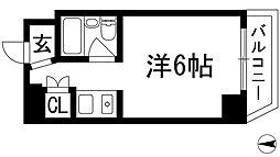 シェルプール弐番館[1階]の間取り