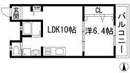 御園第7マンション[3階]の間取り