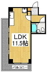 サンハイツ東大和[3階]の間取り