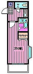 コンフォートマンション仲町[2階]の間取り