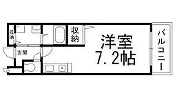 サンライズ栄和[0106号室]の間取り