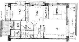 白鷹香枦園マンション[5階]の間取り