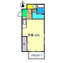 メゾンるふる[2階]の間取り