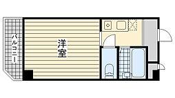 兵庫県神戸市灘区灘南通4丁目の賃貸マンションの間取り