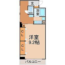 メゾン日向(メゾンヒナタ)[3階]の間取り