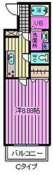 KU・ワコース大成M[3階]の間取り