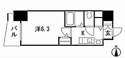 プレサンスSAKAEリバースタイル[13階]の間取り