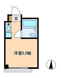 リバーシティ松戸[2階]の間取り