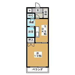Mon  Reve[3階]の間取り
