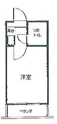 オフィス新横浜[607号室]の間取り