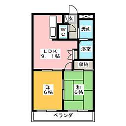 PRESTIGE[1階]の間取り
