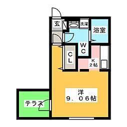 仮)Branche上前津II[1階]の間取り