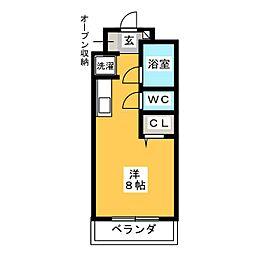 関口マンション[2階]の間取り