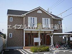 香川県高松市田村町の賃貸アパートの外観
